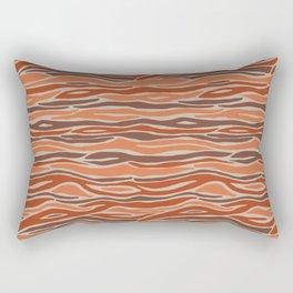 Orange desert Rectangular Pillow