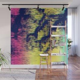 Colour Rain Wall Mural