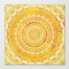Sun Mandala 4 Canvas Print