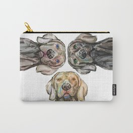 Triple Hunting Dogs Carry-All Pouch