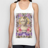 holographic Tank Tops featuring mercury dreams of amethyst olympus by STORMYMADE