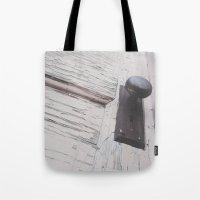 door Tote Bags featuring Door by Megan Adkins Photography