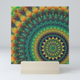 Mandala 236A Mini Art Print