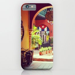 Colonial Cuba, nostalgic cities - Fine art Travel Photography iPhone Case