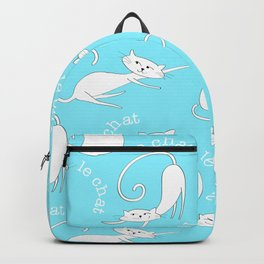 Le Chat - Blue Backpack