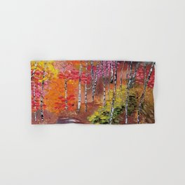 Seasons of Change Hand & Bath Towel
