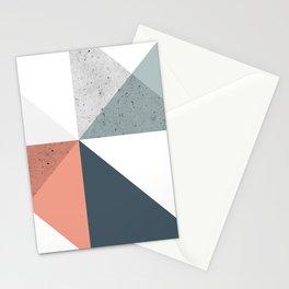 Modern Geometric 11 Stationery Cards