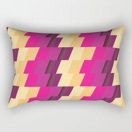 Geometric abstract pattern Rectangular Pillow