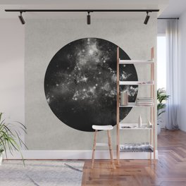 God's Window - Black And White Space Painting Wall Mural