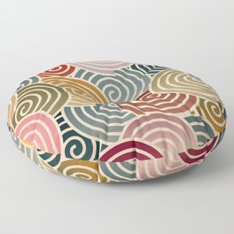 Chiyogami Floor Pillow
