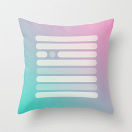 Midsummer Daze Throw Pillow