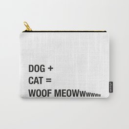 DOG + CAT Carry-All Pouch