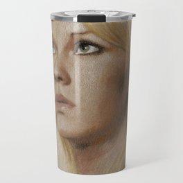 That blonde girl Travel Mug