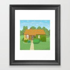 N 400 East, Centerville, Utah Framed Art Print