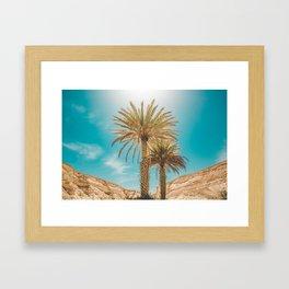 A Tropical Summer Day Framed Art Print