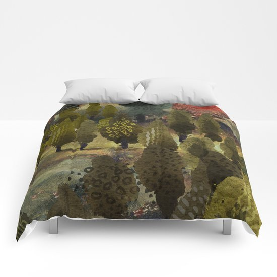 The hill. Comforters