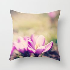 Lensbaby Flower  Throw Pillow