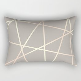 Elegant rose gold pattern Rectangular Pillow