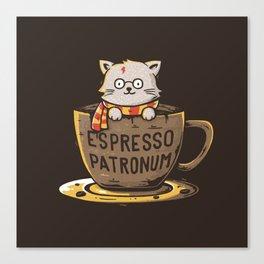 Espresso Patronum Canvas Print