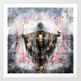 Geclipian - invocation Art Print