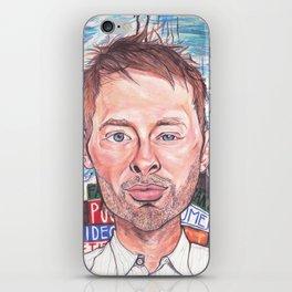 Thom Yorke Radiohead Hail to The Theif iPhone Skin