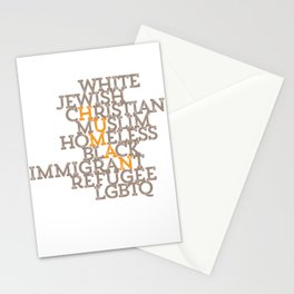 Just Human Stationery Cards