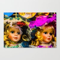 snatch Canvas Prints featuring Doll Snatch by 238media