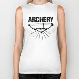 Archery Archer Bow Hunter Bowman Hunting Gift Biker Tank
