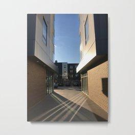 Building Symmetry Metal Print