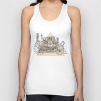 steam punk Tank Tops featuring Steam punk carriage by grop