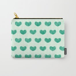 Cute Hearts V Carry-All Pouch