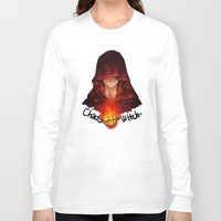 dark souls Long Sleeve T-shirts featuring Dark Souls - Chaos Witch Quelana by Vivid-K