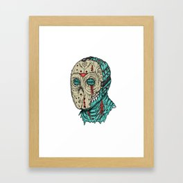Undead Jason Framed Art Print