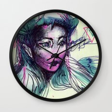 pen-fairy Wall Clock