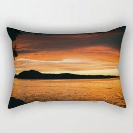 Van Isle Sunset Series II Rectangular Pillow