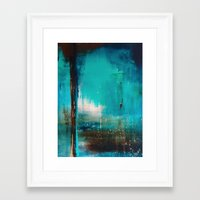 industrial Framed Art Prints featuring Industrial by Victoria Black