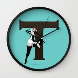 Terry & Copperplate Wall Clock