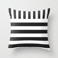 piano Throw Pillows featuring Piano by Vadeco