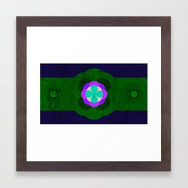 Flower pattern 01 Framed Art Print