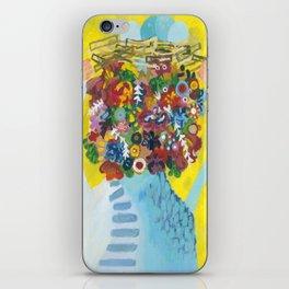 head of flowers iPhone Skin