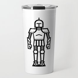 Cartoon Knight Travel Mug