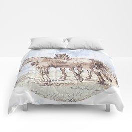 Companions - horse love Comforters
