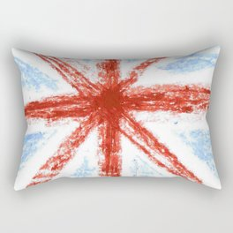 Flag of UK 11- London,united kingdom,england,english,british,great britain,Glasgow,scotland,wales Rectangular Pillow