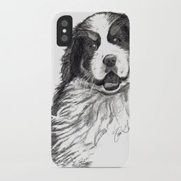 Bernese Mountain Dog iPhone Case