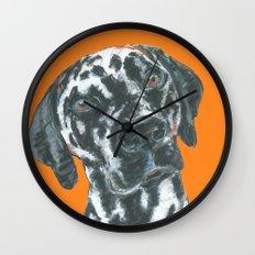 Dalmatian, printed from an original painting by Jiri Bures Wall Clock