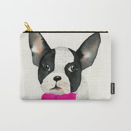 French bulldog with bow tie Carry-All Pouch