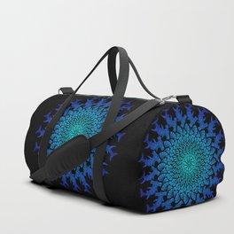 Ombre Tribal Hammerhead Mandala Duffle Bag