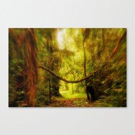 Deep Amazon Jungle Canvas Print