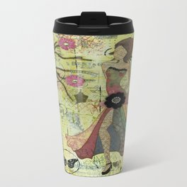 She Found Herself by Following Her Heart Travel Mug