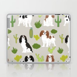 Cavalier King Charles Spaniel must have gift accessories for dog breed owner king charles dog Laptop & iPad Skin